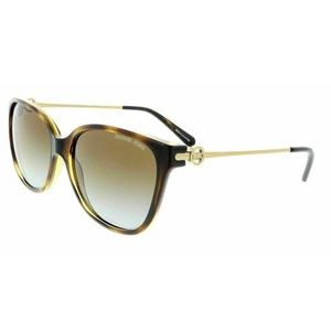 Michael Kors Square Brown Gradient Polarized Lens